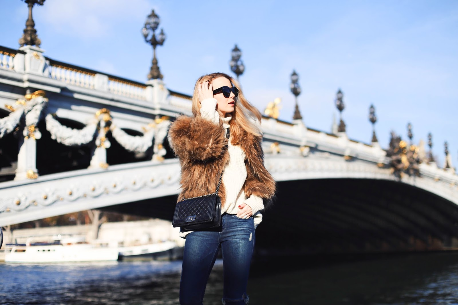 Caroline from Pardon My Obsession looking stunning in Paris (c) Pardon My Obsession