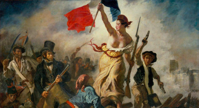 French Presidential Candidates As Famous Paintings