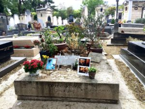 Serge Gainsbourg's tomb