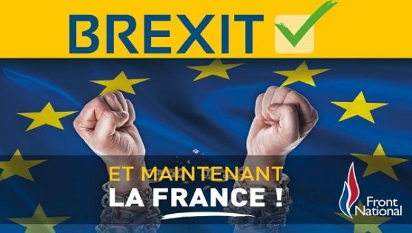 Le Pens Frexit Poster