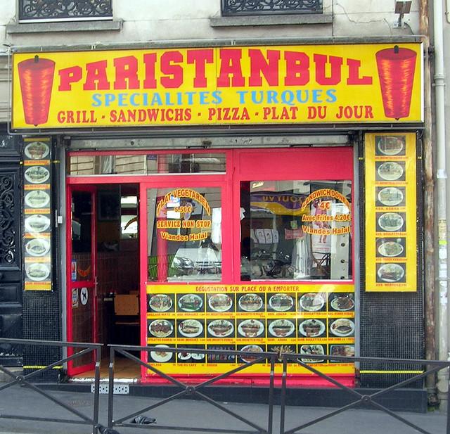 Kebab shop in Paris. Image: Cuisine Politique