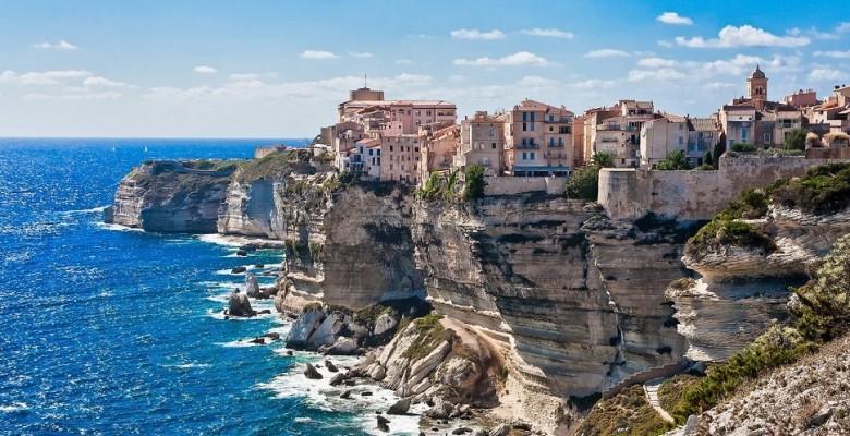 Bonifacio, Corsica. Image courtesy of the Travel Channel.