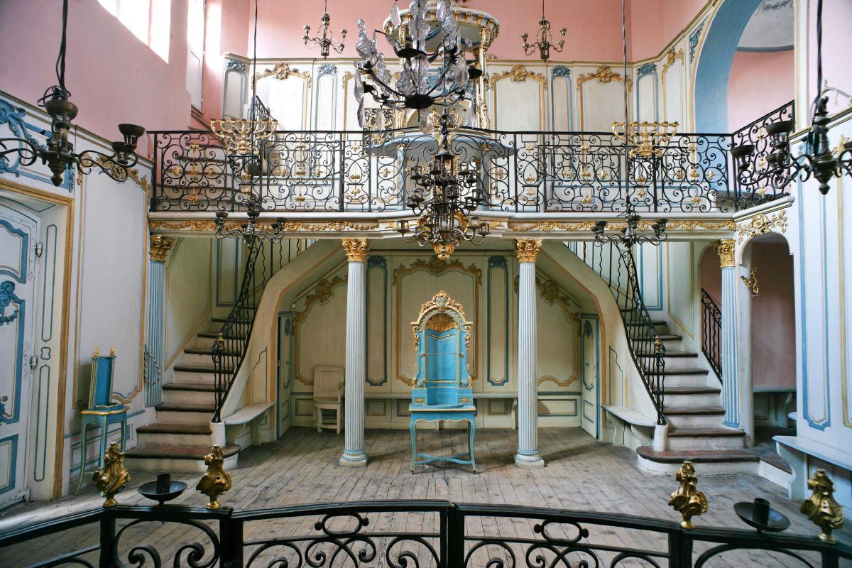 Cavaillon Synagogue courtesy Musée Judeo-Comtadin