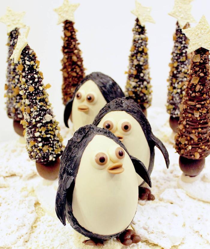 Chocolaterie La Mutinerie Nos Pingouins