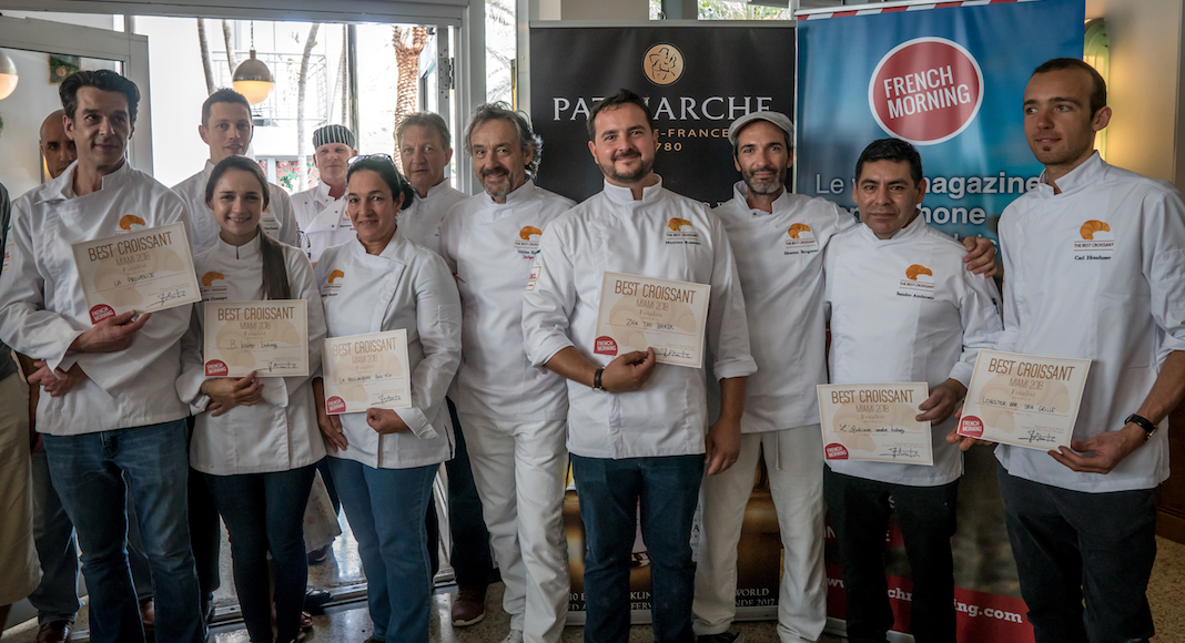 The winners of Best Croissant Miami 2018 © Youri Fatianoff