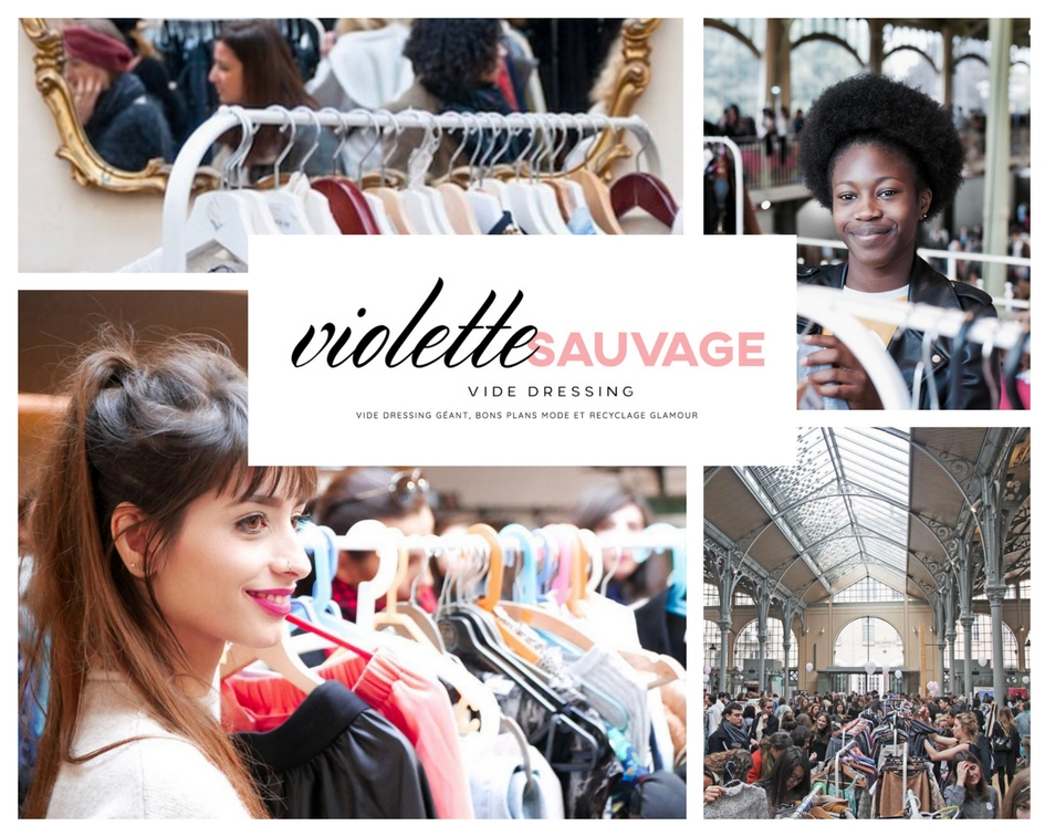 Violette Sauvage flea market Paris