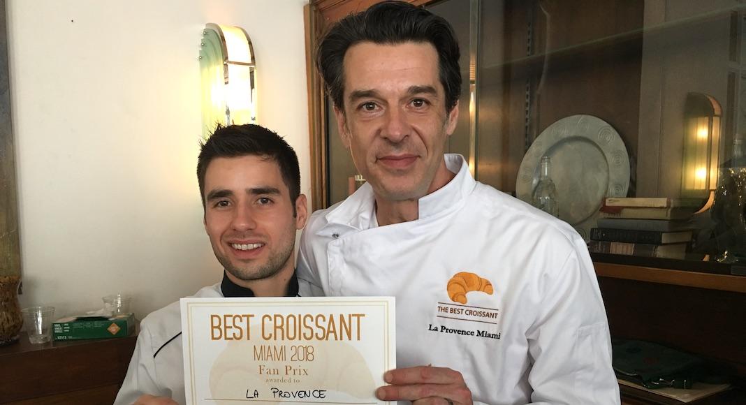 La Provence, who won the Fan Prize