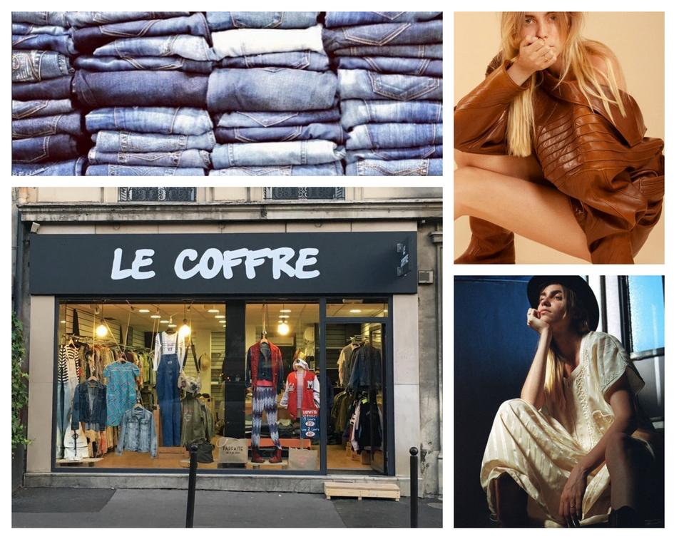 Le Coffre vintage fashion Paris