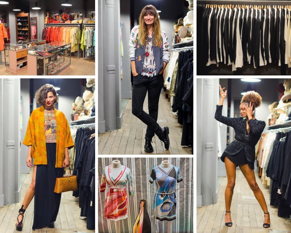 Shop Paris vintage fashion