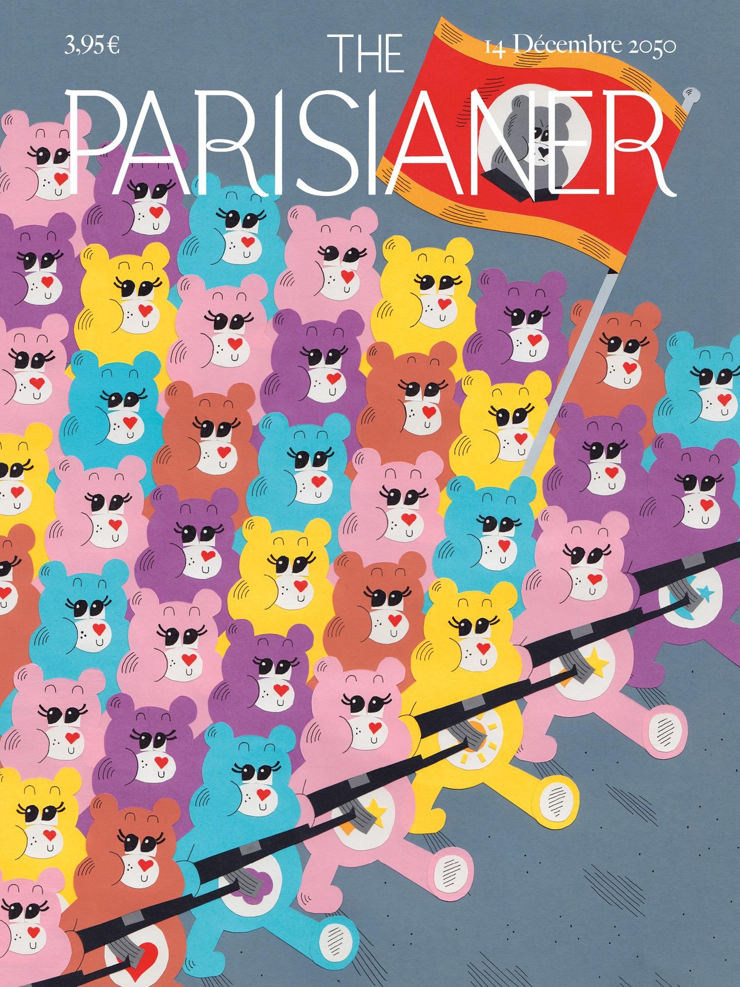 """Graphic Artists Imagine the Paris of the Future in """"Parisianer 2050"""""""